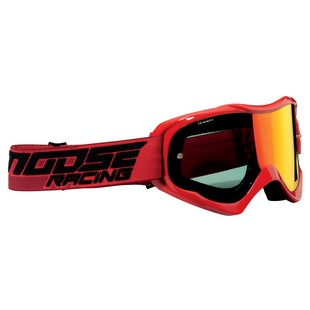 Moose Racing Qualifer Shade Goggles (Color: Red) 1151687