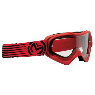 Moose Racing Youth Qualifier Slash Goggles (Color: Red/Black) 1151715