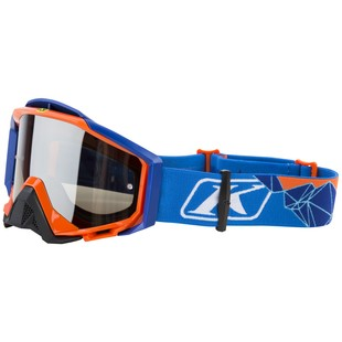 Klim Radius Pro Snow Goggles (Color: Peak Blue / Lens: Polarized Smoke) 1126906