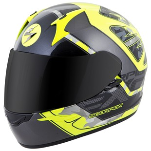 Scorpion EXO-R410 Convoy Helmet (Color: Neon Yellow/Silver / Size: XL) 1152724