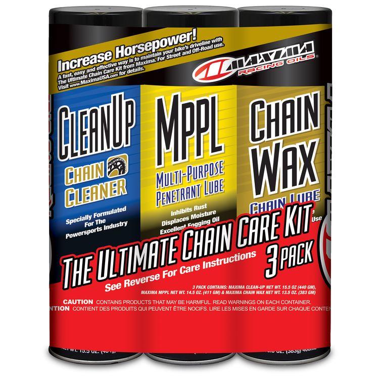 Maxima Chain Care Kit With Chain Wax