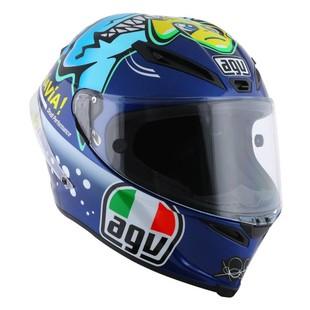 AGV Corsa Rossi Misano 2015 LE Helmet (Color: Blue/Yellow / Size: ML) 1153713