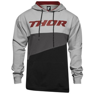 Thor Main Event Hoody (Color: Heather Gray/Burgundy / Size: XL) 1154659