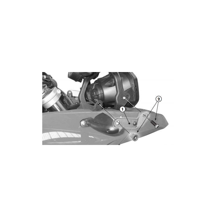 Givi D333KIT Windshield Fit Kit F650GS / F800GS
