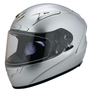 Scorpion EXO-R2000 Full Face Motorcycle Helmet - Silver