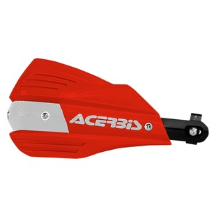 Acerbis X-Factor Handguards (Color: Red/White) 1155196