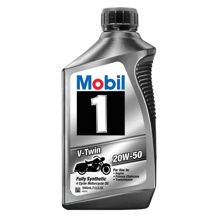 Mobil 1 V-Twin Engine Oil