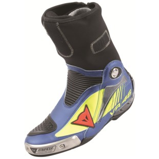 Dainese Axial Pro In D1 Rossi Replica Boots (Color: Fluo Yellow/Yamaha Blue / Size: 44) 1150391