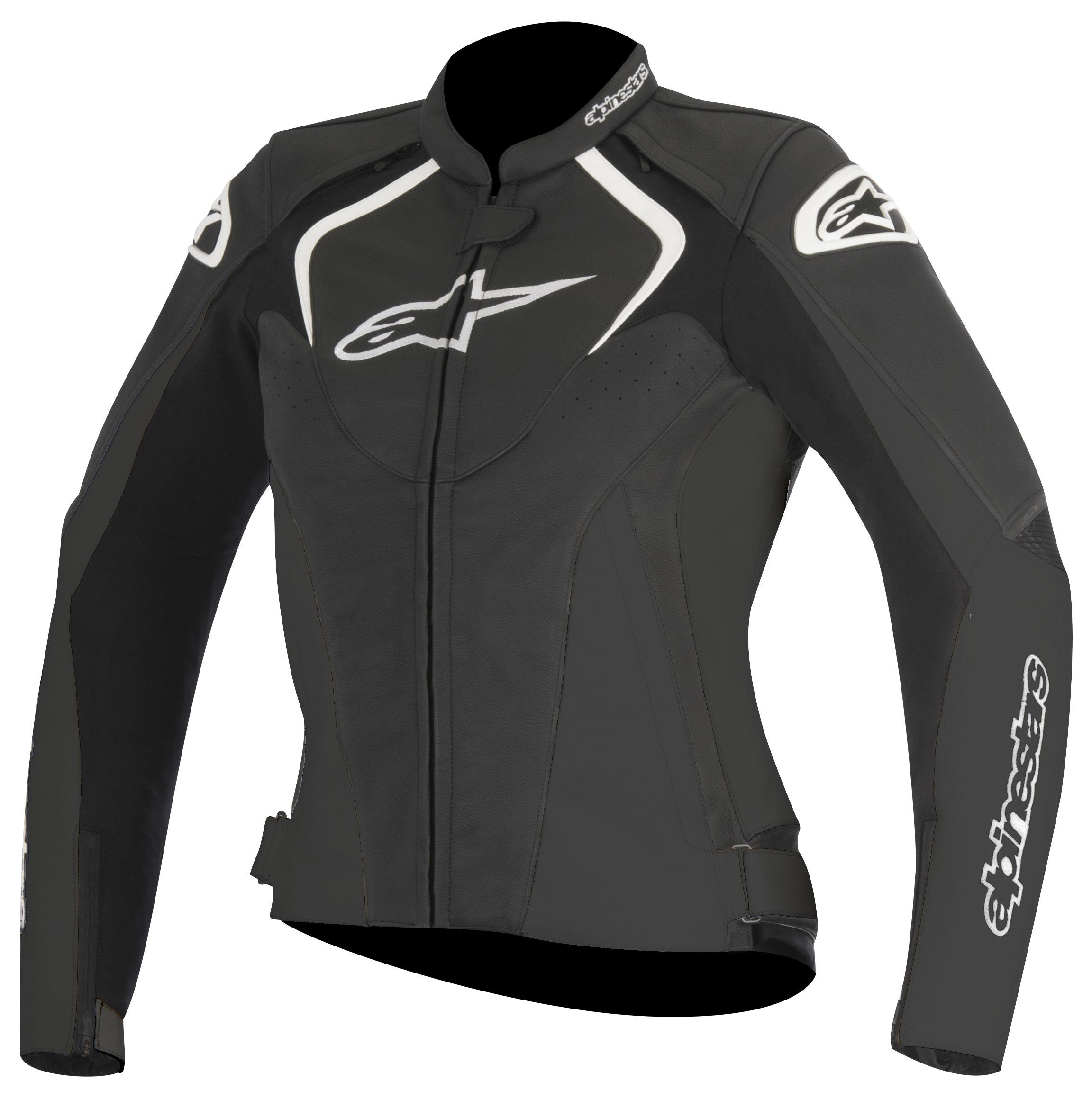 Alpinestars Leather Jacket >> Alpinestars Stella Jaws Leather Jacket Cycle Gear