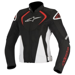 Alpinestars Stella T-Jaws Air Jacket (Color: Black/White/Red / Size: XL) 1156844