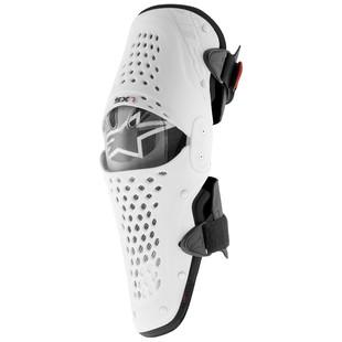 Alpinestars SX-1 Knee Guards (Color: White/Black / Size: LG-XL) 1156605