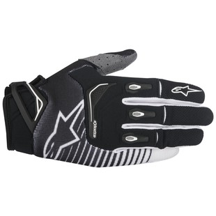 Alpinestars Techstar Gloves (Color: Black/White / Size: 2XL) 1156640