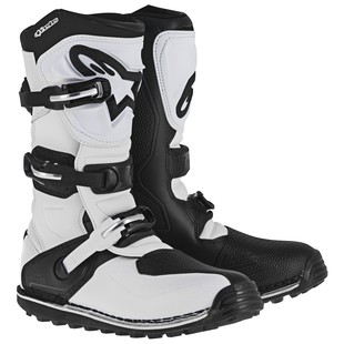 Alpinestars Tech T Boots (Color: White/Black / Size: 8) 1157308