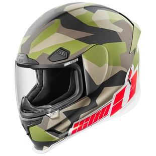Icon Airframe Pro Deployed Helmet (Color: Camo / Size: 3XL) 1158018