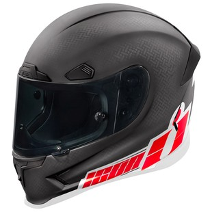Icon Airframe Pro Flashbang Carbon Helmet (Color: Black/Red / Size: 2XL) 1158024
