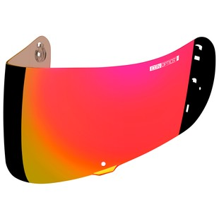Icon Optics Face Shield (Color: RST Red) 1158076