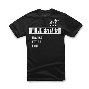 Alpinestars Valiant T-Shirt (Color: Black / Size: LG) 1157068