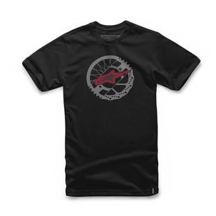 Alpinestars Rotor T-Shirt (Color: Black / Size: MD) 1157102
