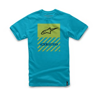 Alpinestars Fact T-Shirt (Color: Turquoise / Size: LG) 1157228