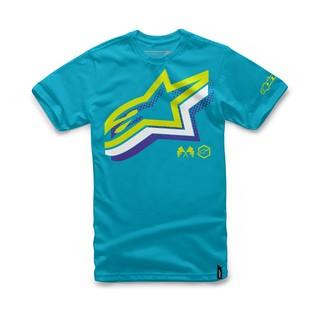 Alpinestars Halogen T-Shirt (Color: Turquoise / Size: SM) 1157241