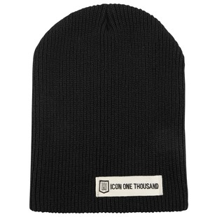 Icon 1000 Inline Beanie (Color: Black Heather) 1158175