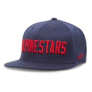 Alpinestars Big Word Hat (Color: Navy / Size: SM-MD) 1156885