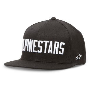 Alpinestars Big Word Hat (Color: Black / Size: SM-MD) 1156887