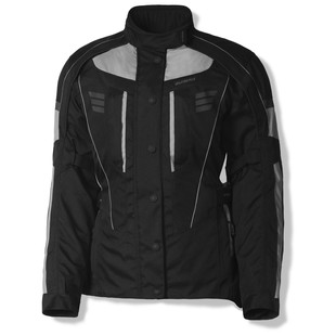 Olympia Durham Women's Jacket (Color: Silver/Black / Size: 2XL) 1158584