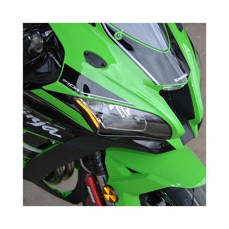 New Rage Cycles LED Front Turn Signals Kawasaki ZX10R 2016-2020