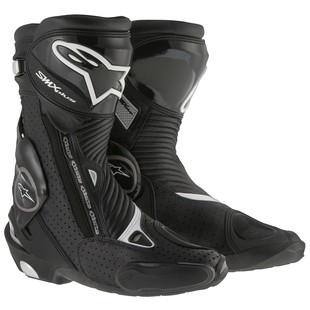 Alpinestars SMX Plus Vented Boots (Color: Black / Size: 48) 1157537
