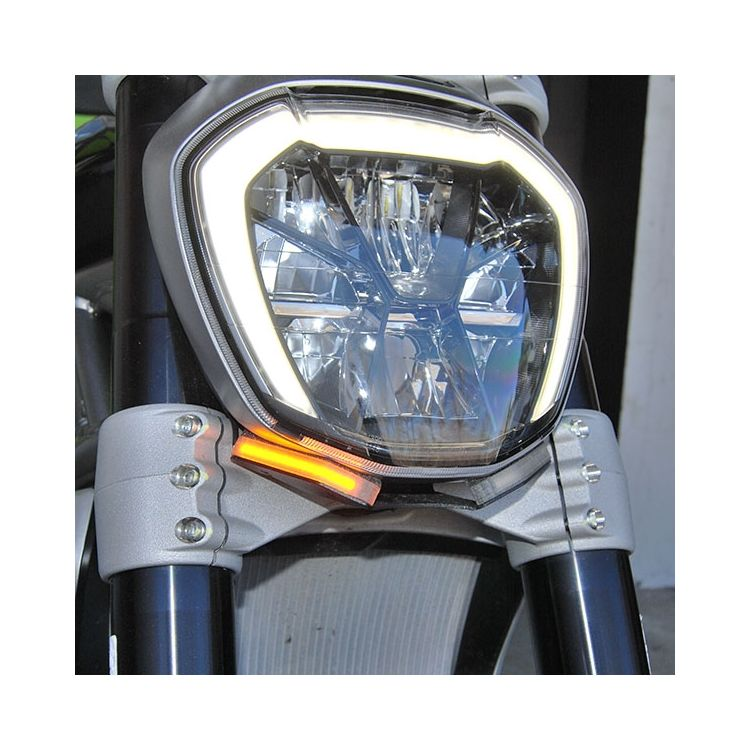 New Rage Cycles LED Front Turn Signals Ducati XDiavel / S 2016-2020