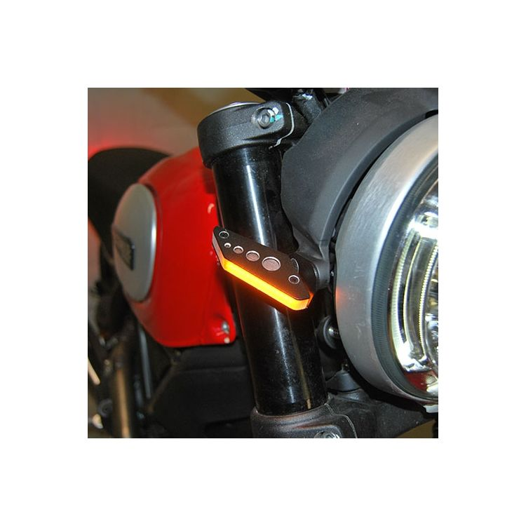 New Rage Cycles LED Front Turn Signals Ducati Scrambler 2015-2019