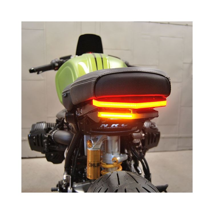 Motorcycle Helmet Lock Right Side For BMW R nine T 2014-2017 R Nine T Scrambler 2014-2017-Orange