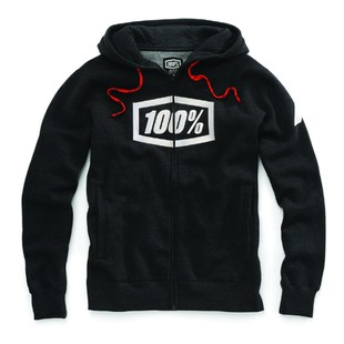 100 Syndicate Hoody (Color: Black/White / Size: XL) 1160468