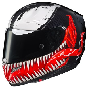 HJC RPHA 11 Pro Venom Helmet (Color: Black/White/Red / Size: XL) 1158281
