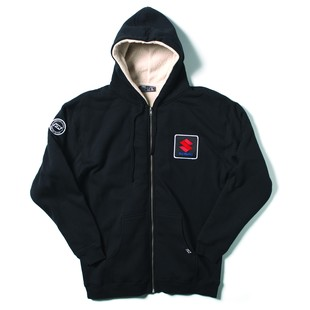 Factory Effex Suzuki Sherpa Hoody (Color: Black / Size: XL) 1161505