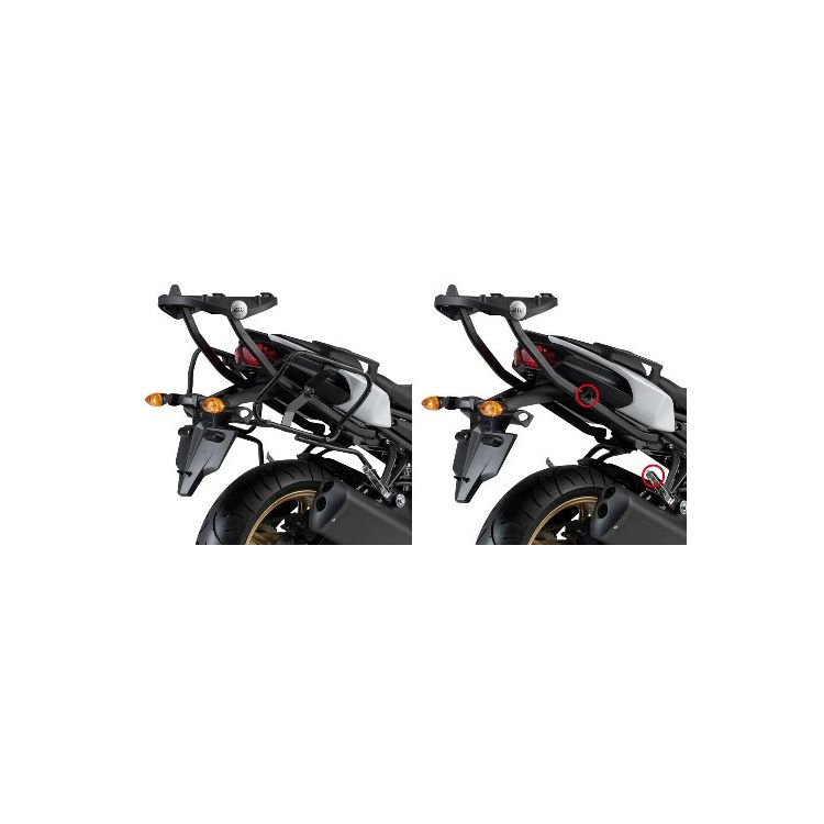Givi PLXR366 Rapid Release V35 / V37 Side Case Racks Yamaha FZ8 2011-2013