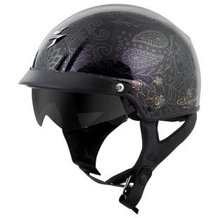 Scorpion EXO-C110 Pinstripe Helmet (Color: Gold/Silver / Size: XS) 1167771