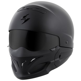 Scorpion Covert Helmet (Color: Matte Black / Size: MD) 1167872