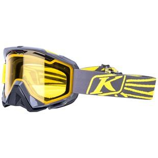Klim Radius Snow Goggles (Color: Nemesis Yellow / Lens: Yellow) 1126912