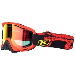 Klim Radius Snow Goggles (Color: Rattler Red / Lens: Red Mirror) 1126916