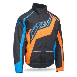 Fly Snow Outpost Jacket (Color: Black/Orange/Blue / Size: XL) 1175339