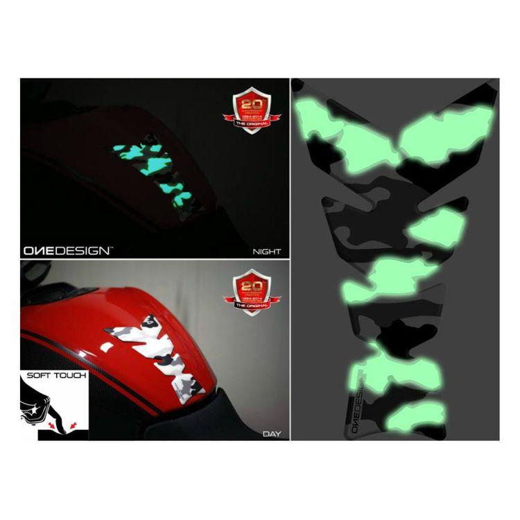 OneDesign Camo Glow Soft Tank Pad