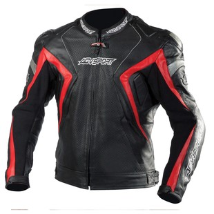 AGV Sport Atom Jacket (Color: Black/Red / Size: XL) 1173851