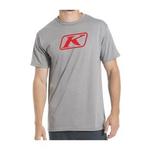 Klim Icon T-Shirt (Color: Grey / Size: LG) 1126462