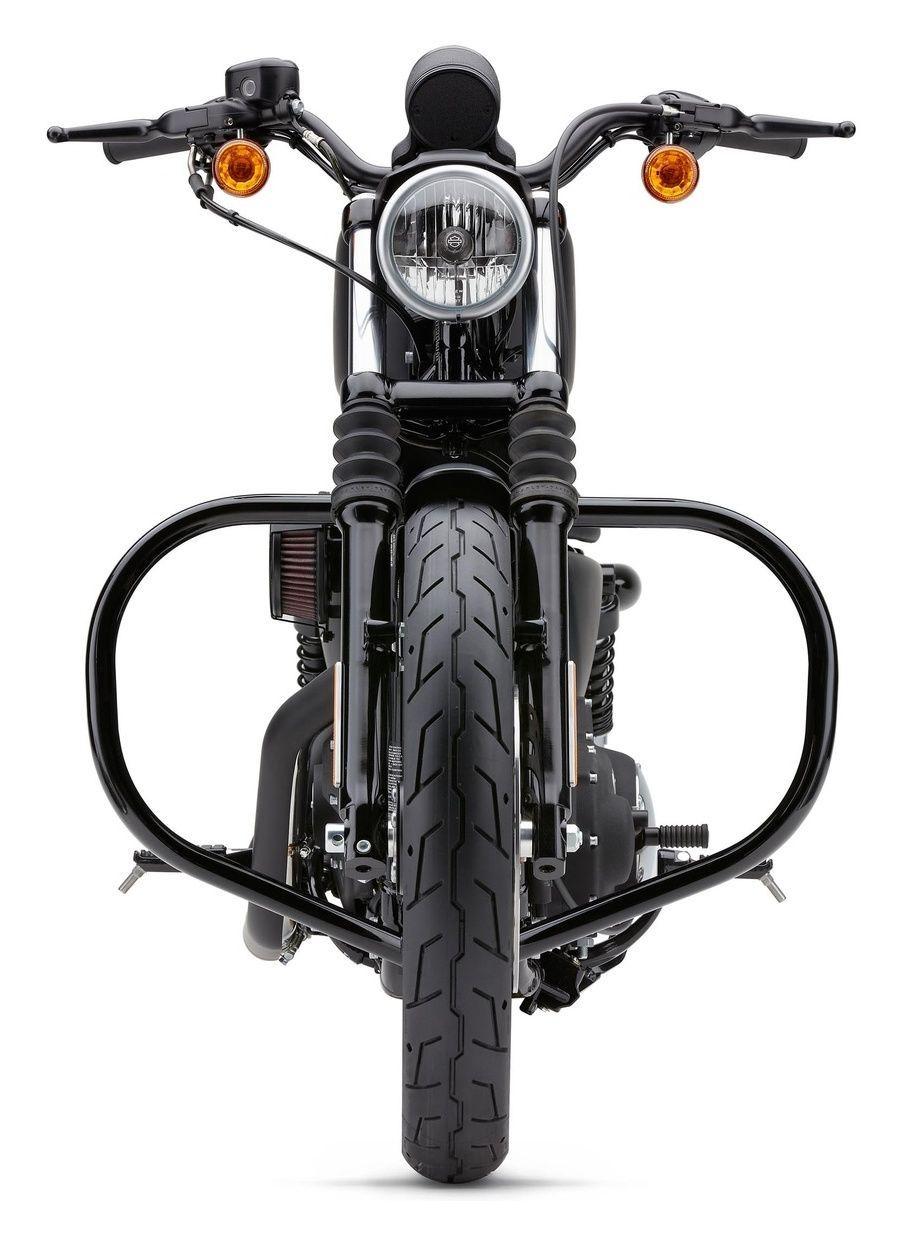 Cobra Round Sissy Bars for 2004-2011 Harley Davidson Sportsters Short