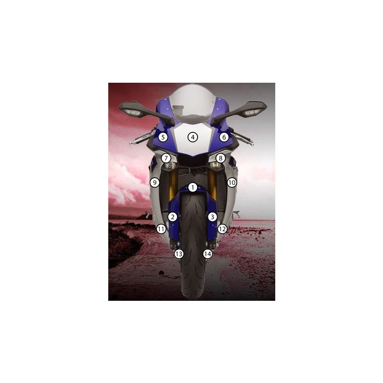 Eazi-Grip Eazi-Guard Protective Film Kit Yamaha R1 / R1S 2015-2019