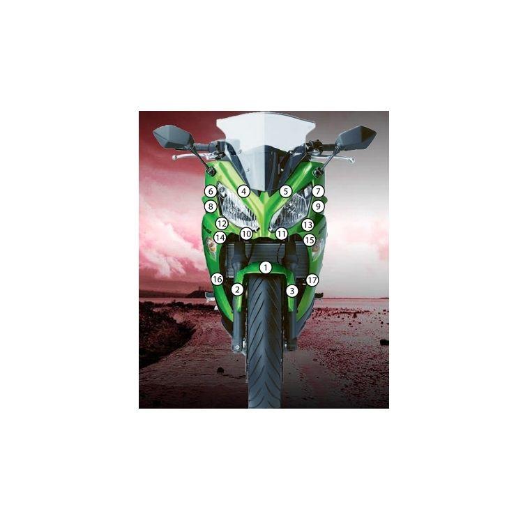 Eazi-Grip Eazi-Guard Protective Film Kit Kawasaki Ninja 650 2012-2015