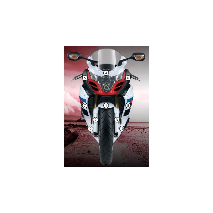 Eazi-Grip Eazi-Guard Protective Film Kit Suzuki GSXR 1000 2009-2016