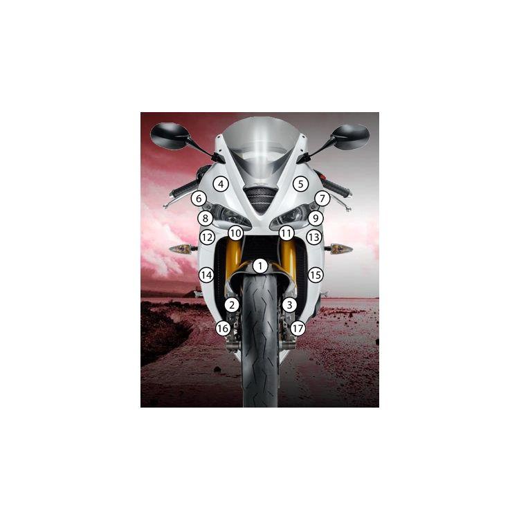 Eazi-Grip Eazi-Guard Protective Film Kit Triumph Daytona 675 / R 2013-2019